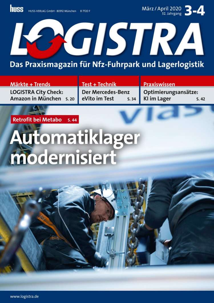 LOGISTRA März/April 2020