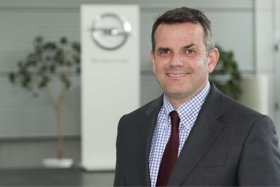 Steffen Raschig, Director Commercial Vehicles, Sales, ­Service & Marketing Opel/Vauxhall.(Foto: Opel)
