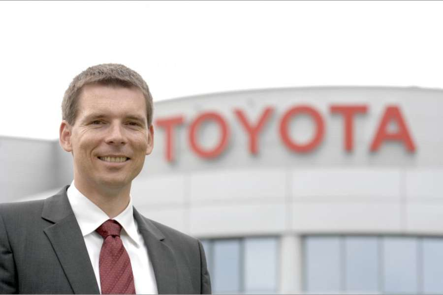 Andre Schmidt, Marketingdirektor bei Toyota Europe.(Foto: Toyota)