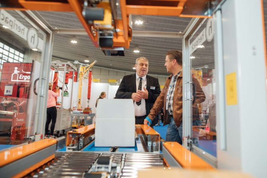 Die Intralogistikmesse Logistics & Distribution belegt Halle 7 des Messegeländes in Dortmund. | Bild: Easyfairs