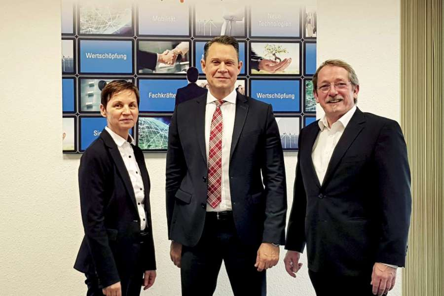 Die neuen Partner (von links): Gudrun Raabe (System Alliance), Frank Erhardt (Gefco), Georg Köhler (System Alliance). | Bild: System Alliance