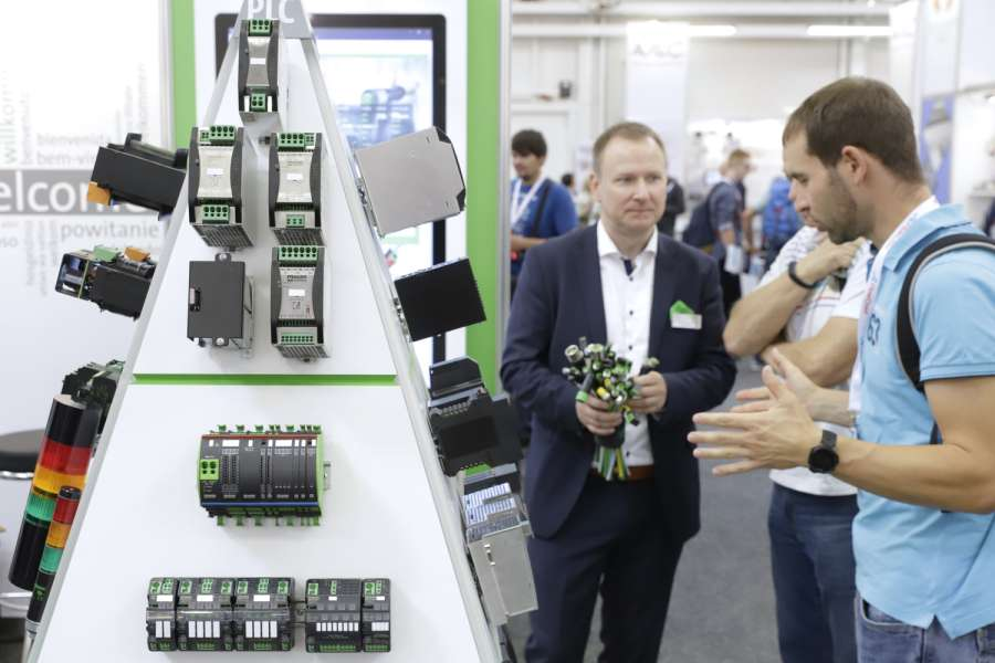 Impression von der all about automation Leipzig 2019 (Foto: untitled exhibitions)