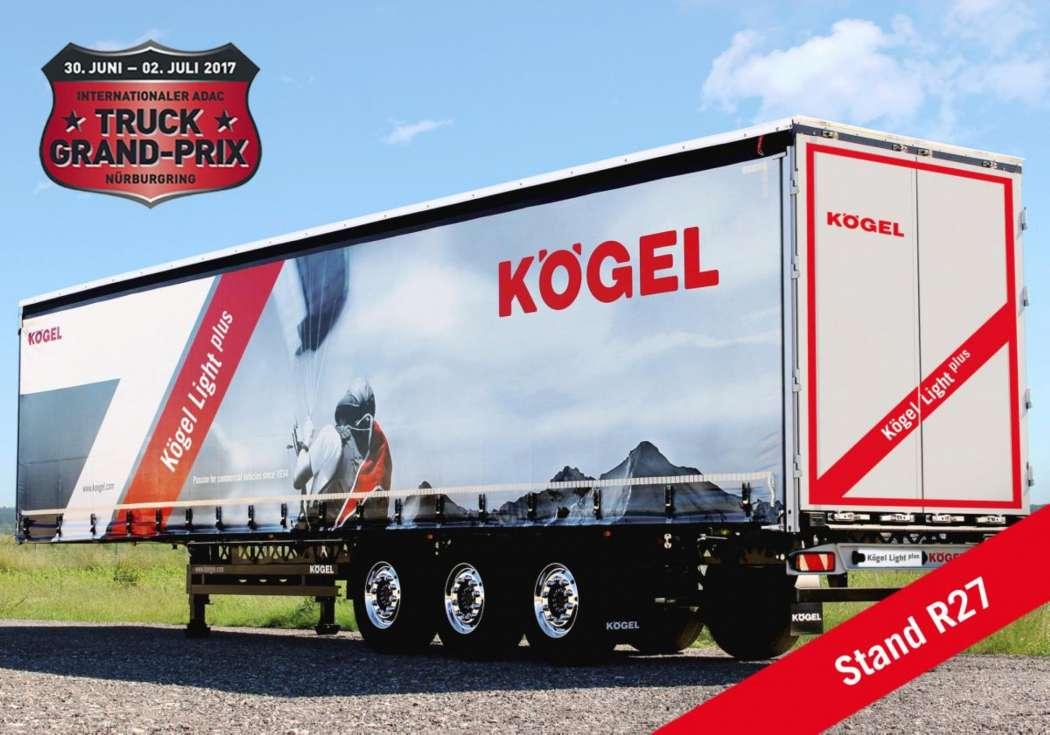 Lkw Trailer Kögel Auf Dem Truck Grand Prix 2017 Lkw Unternehmens