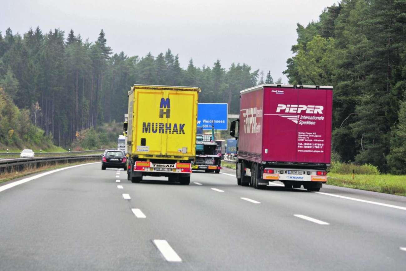 Neuer Bußgeldkatalog: Verstöße im Güterverkehr werden ...